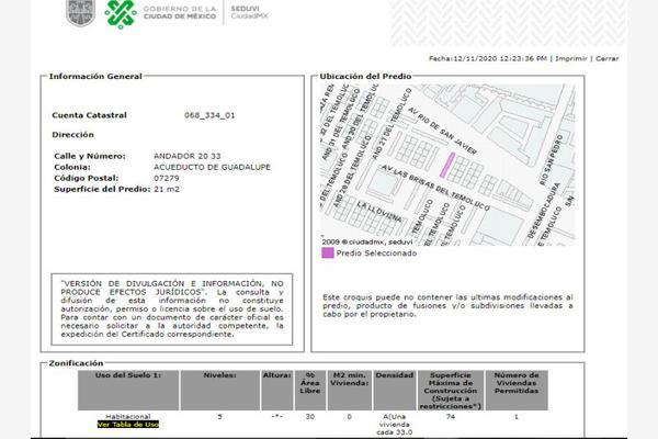 Foto de departamento en venta en andador 20 33, acueducto de guadalupe, gustavo a. madero, df / cdmx, 18162499 No. 04