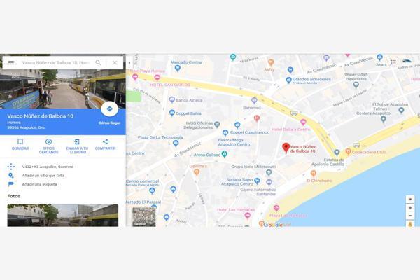 Foto de terreno comercial en venta en andres de urdaneta y vasco nuñes de balboa 100, hornos, acapulco de juárez, guerrero, 12954343 No. 09