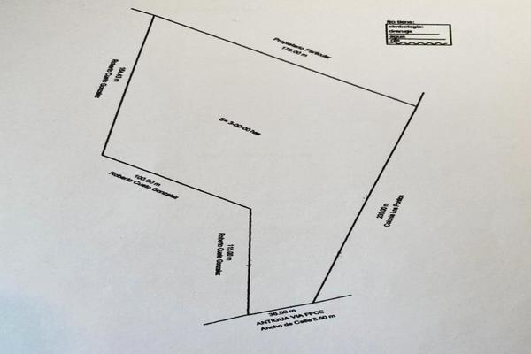 Foto de terreno habitacional en venta en antigua vía ffcc , los pinos, guanajuato, guanajuato, 17449783 No. 17