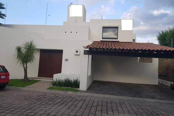 Foto de casa en venta en antiguo camino rancho san isidro 3209, las quintas, san pedro cholula, puebla, 6156811 No. 01