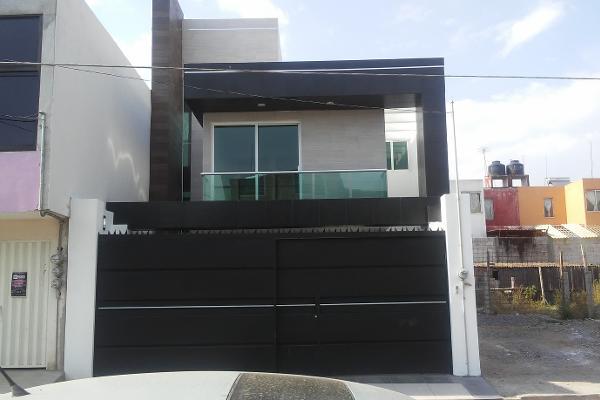 Foto de casa en venta en antonio carvajal 92, los cipreses, tlaxcala, tlaxcala, 5891233 No. 01