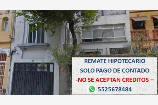 Foto de casa en venta en antonio del castillo 1, san rafael, cuauhtémoc, df / cdmx, 6178839 No. 01