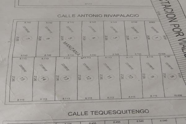 Foto de terreno industrial en venta en antonio rivapalacio , nicolás bravo, jojutla, morelos, 9936411 No. 01
