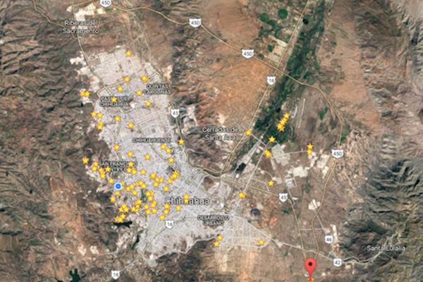 Foto de terreno comercial en venta en aquiles serdan , las margaritas, chihuahua, chihuahua, 3099578 No. 05