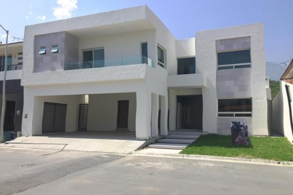Foto de casa en venta en arboleta 31, el portón de valle alto, monterrey, nuevo león, 3587783 No. 01