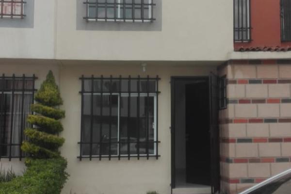 Foto de casa en renta en arbolillo manzana 25 , san nicolás tolentino, toluca, méxico, 5451501 No. 01