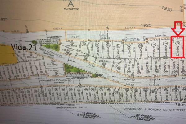Foto de terreno habitacional en venta en àrea privativa. fase b. (bukara) , milenio 3a. sección, querétaro, querétaro, 8381668 No. 02