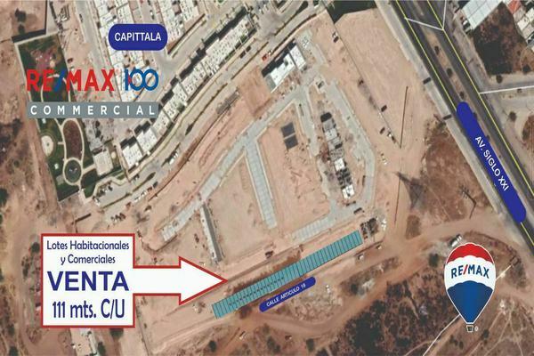 Foto de terreno habitacional en venta en artículo 18 esquina con avenida siglo xxi , pozo bravo norte, aguascalientes, aguascalientes, 0 No. 01