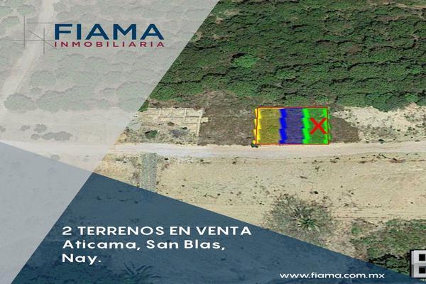 Foto de terreno habitacional en venta en  , aticama, san blas, nayarit, 17829117 No. 02