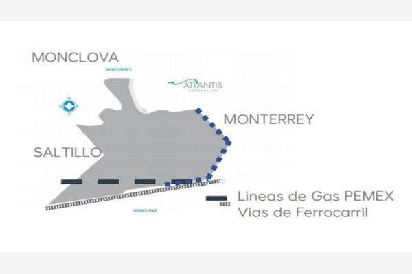 Foto de terreno industrial en venta en autopista saltillo-monterrey , santa maría, ramos arizpe, coahuila de zaragoza, 18146898 No. 02