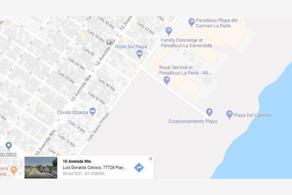 Foto de terreno comercial en venta en avenida 10 con la 88 cerca al mar. a un lado hotel, playa del carmen, solidaridad, quintana roo, 5367258 No. 01