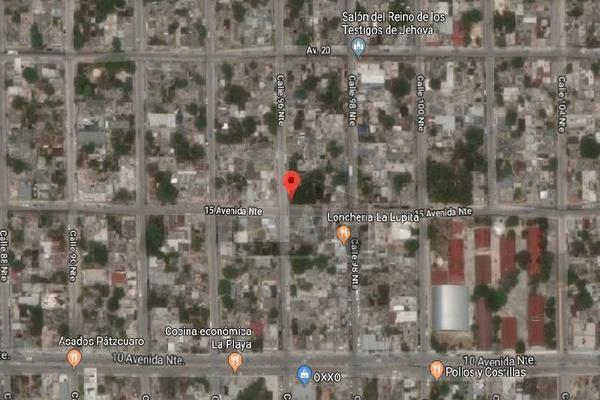 Foto de terreno habitacional en venta en avenida 15 esquina 96 , luis donaldo colosio, solidaridad, quintana roo, 7506246 No. 08