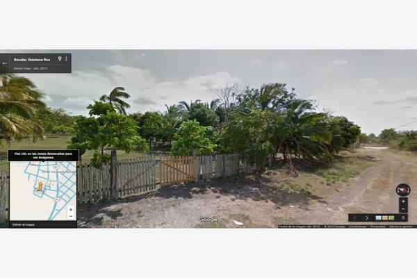 Foto de terreno comercial en renta en avenida 19c , diego rojas, bacalar, quintana roo, 7157960 No. 02