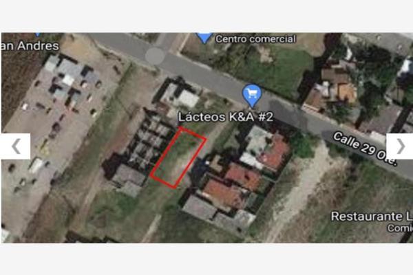 Foto de terreno habitacional en venta en avenida 29 oriente 629, san rafael comac, san andrés cholula, puebla, 0 No. 02