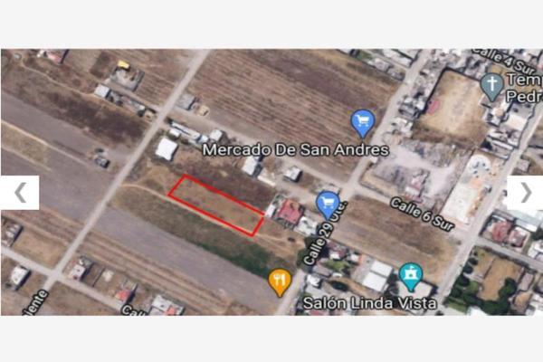 Foto de terreno habitacional en venta en avenida 29 oriente 629, san rafael comac, san andrés cholula, puebla, 0 No. 05