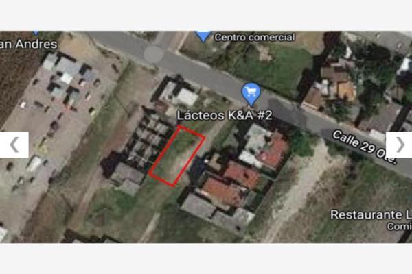Foto de terreno habitacional en venta en avenida 29 oriente 629, san rafael comac, san andrés cholula, puebla, 0 No. 06