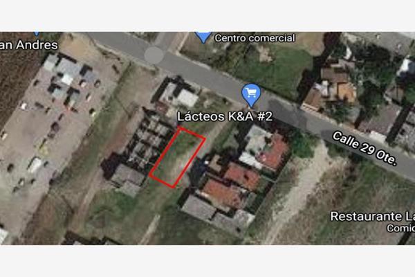 Foto de terreno habitacional en venta en avenida 29 oriente 629, san rafael comac, san andrés cholula, puebla, 0 No. 09