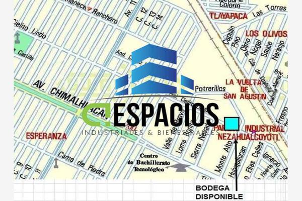 Foto de nave industrial en renta en avenida adolfo lopez mateos 50, santa maría chimalhuacán, chimalhuacán, méxico, 13145096 No. 02