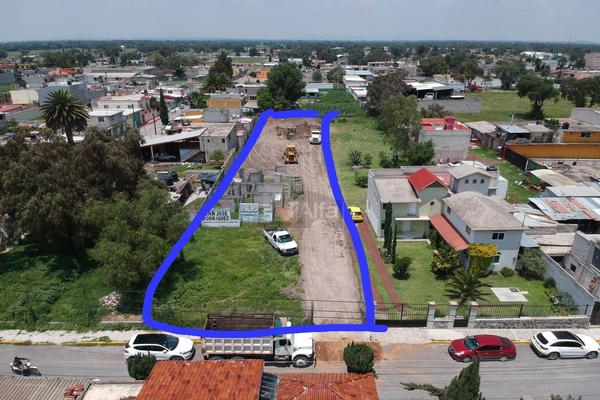 Foto de terreno comercial en venta en avenida atocan poniente , central, nextlalpan, méxico, 0 No. 01