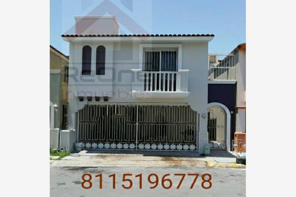 Foto de casa en venta en avenida . benito juarez 201, cerradas de anáhuac 1er sector, general escobedo, nuevo león, 19617295 No. 01
