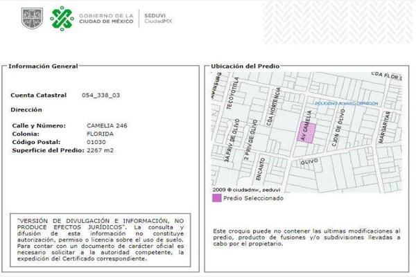 Foto de casa en venta en avenida camelia 246, florida, álvaro obregón, df / cdmx, 0 No. 04