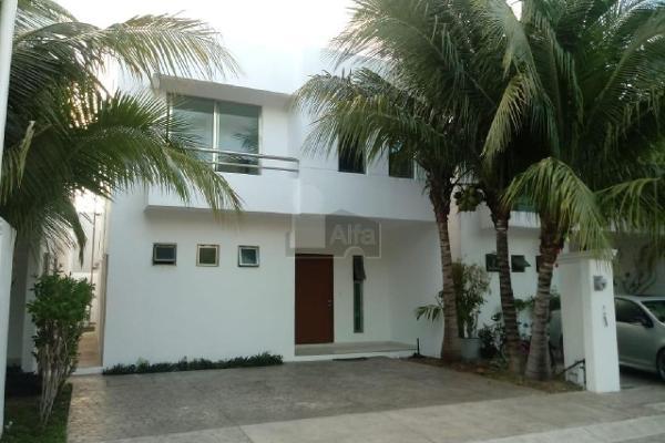 Foto de casa en renta en avenida cancún , quetzal región 523, benito juárez, quintana roo, 6169467 No. 01