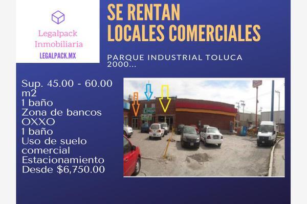 Foto de local en renta en avenida central , san mateo otzacatipan, toluca, méxico, 10004804 No. 01