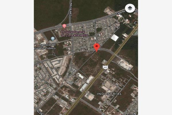 Foto de terreno habitacional en venta en avenida chemuyil 000000001, nuevo centro urbano, solidaridad, quintana roo, 6203484 No. 01