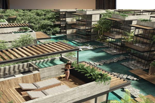 Foto de departamento en venta en avenida coba , tulum centro, tulum, quintana roo, 7241986 No. 01