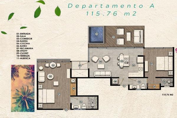 Foto de departamento en venta en avenida coba , tulum centro, tulum, quintana roo, 7279003 No. 05