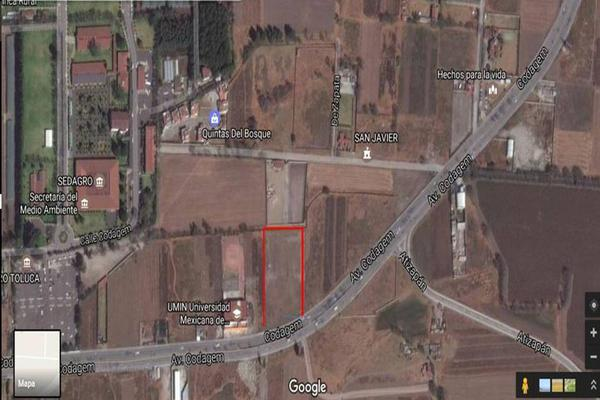 Foto de terreno habitacional en renta en avenida codagem , llano grande, metepec, méxico, 0 No. 01