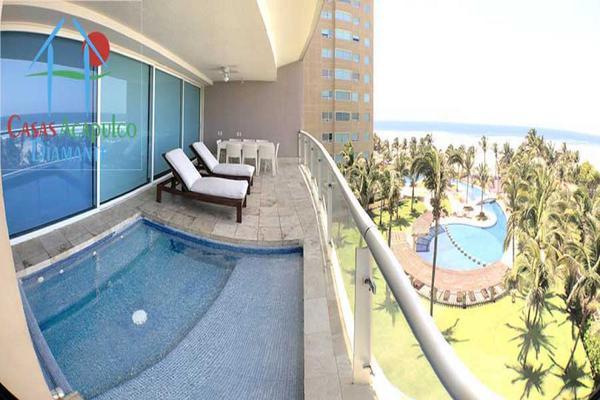 Foto de departamento en venta en avenida costera de las palmas lote h - 8 a - 1, playa diamante, acapulco de juárez, guerrero, 8874528 No. 01