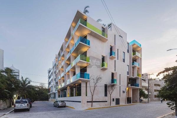 Foto de departamento en venta en avenida cozumel a 2 cuadras de la playa , playa del carmen centro, solidaridad, quintana roo, 5710487 No. 01