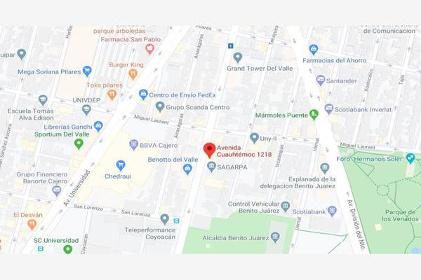 Foto de departamento en venta en avenida cuauhtemoc 1218, santa cruz atoyac, benito juárez, df / cdmx, 0 No. 04