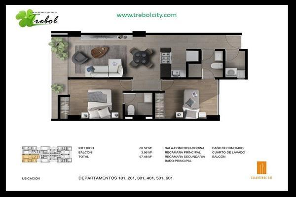 Foto de departamento en venta en avenida cuauhtemoc , narvarte poniente, benito juárez, df / cdmx, 7265016 No. 10