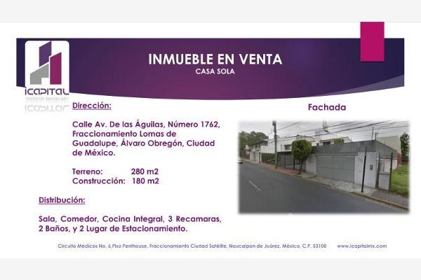 Foto de casa en venta en avenida de l<as aguilas 1762, lomas de guadalupe, álvaro obregón, df / cdmx, 5962719 No. 01