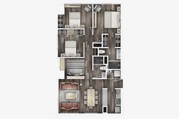 Foto de departamento en venta en avenida de las torres 805, torres de potrero, álvaro obregón, distrito federal, 5681010 No. 01