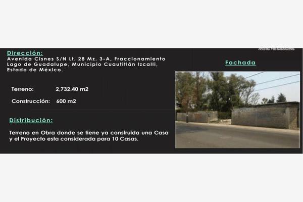 Foto de terreno habitacional en renta en avenida de los cisnes 28, lago de guadalupe, cuautitlán izcalli, méxico, 7515429 No. 01