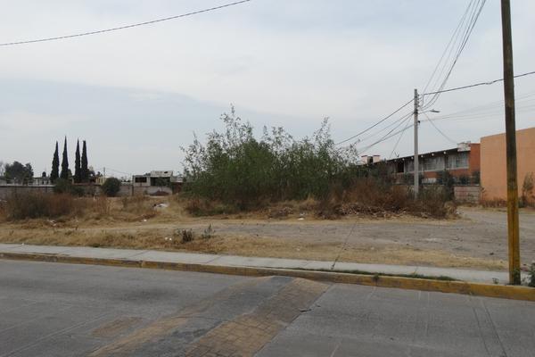 Foto de terreno habitacional en venta en avenida de los doctores 6 , santiago teyahualco, tultepec, méxico, 12810622 No. 01