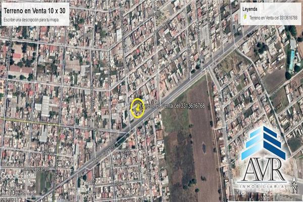 Foto de terreno habitacional en venta en avenida de los maestros , san juan, ocotlán, jalisco, 10089717 No. 02