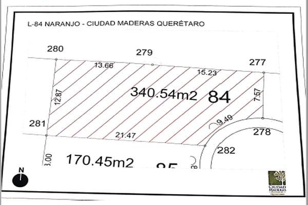 Foto de terreno habitacional en venta en avenida del ébano , paseos del marques ii, el marqués, querétaro, 14020428 No. 02