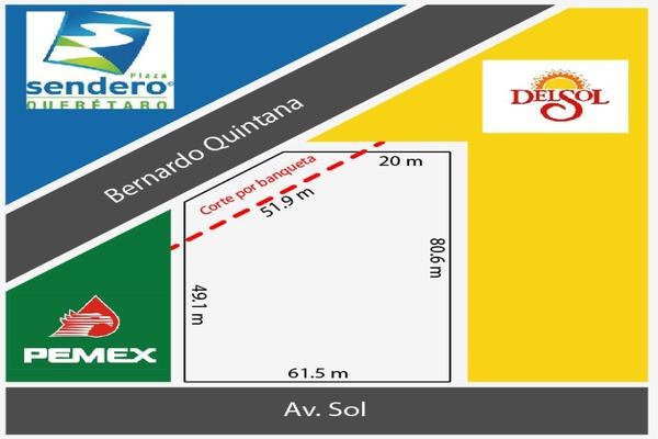 Foto de terreno comercial en venta en avenida del sol , el sol, querétaro, querétaro, 19020692 No. 02