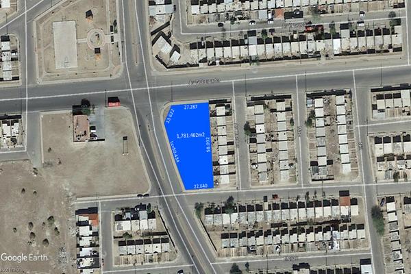 Foto de terreno comercial en venta en avenida drago , hacienda de castilla, mexicali, baja california, 7196338 No. 01