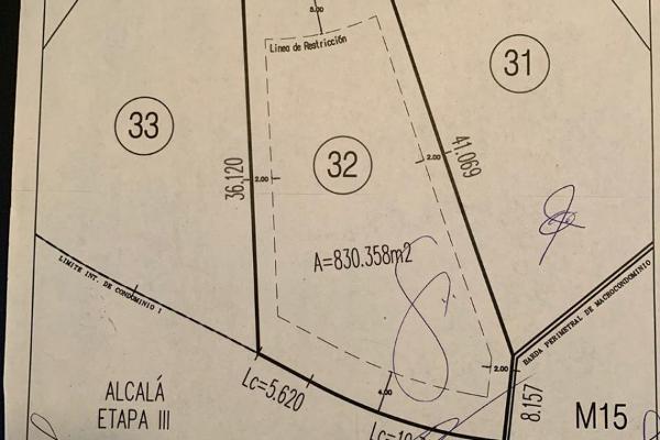 Foto de terreno habitacional en venta en avenida el campanario , el campanario, querétaro, querétaro, 14023689 No. 03