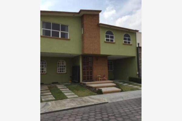 Foto de casa en venta en avenida estado de méxico 000, metepec centro, metepec, méxico, 12274257 No. 01