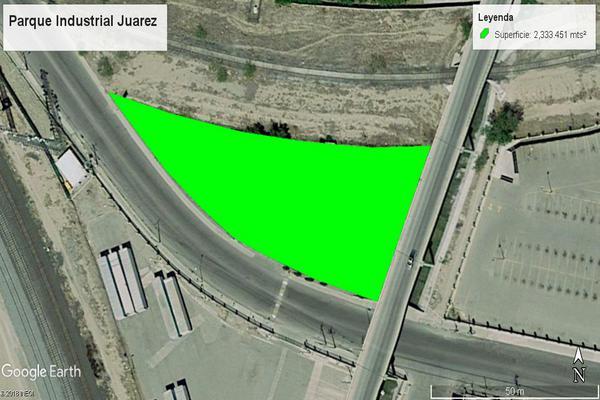 Foto de terreno industrial en venta en avenida fernando borreguero , parque industrial juárez, juárez, chihuahua, 7514183 No. 01