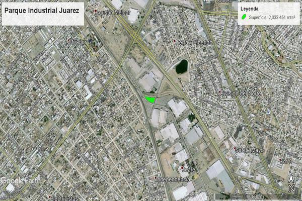 Foto de terreno industrial en venta en avenida fernando borreguero , parque industrial juárez, juárez, chihuahua, 7514183 No. 02