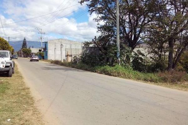 Foto de terreno industrial en venta en avenida francisco i madero 228, san juan bautista la raya, santa cruz xoxocotlán, oaxaca, 5953905 No. 01