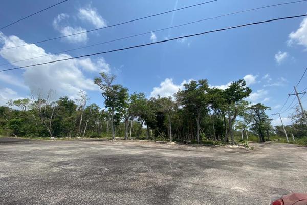 Foto de terreno habitacional en venta en avenida huayacan pedregal plus , alfredo v bonfil, benito juárez, quintana roo, 20274215 No. 06
