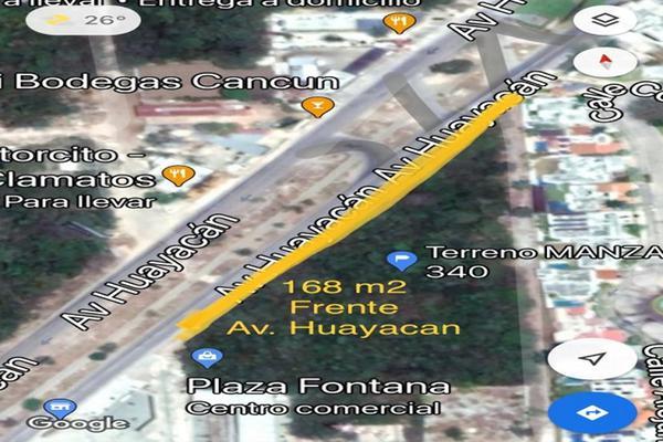 Foto de terreno habitacional en venta en avenida huayacan supermanzana 313 , supermanzana 312, benito juárez, quintana roo, 20886596 No. 11